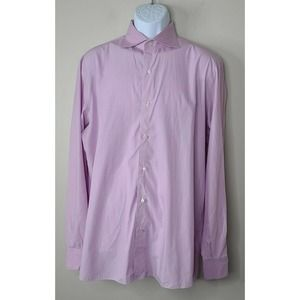 Isaia Button Down dress Shirt 16½ / 42